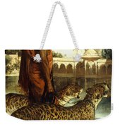 The Palace Guard With Two Leopards Weekender Tote Bag