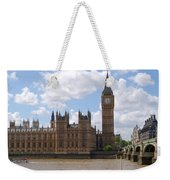 The Palace Of Westminster Weekender Tote Bag