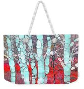 The Pale Trees Of Winter Weekender Tote Bag