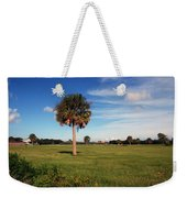 The Palmetto Tree Weekender Tote Bag