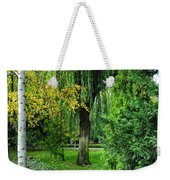 The Park Federico Garcia Lorca Is Situated In The City Of Granada, In Spain. Weekender Tote Bag