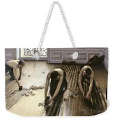 The Parquet Planers Weekender Tote Bag by Gustave Caillebotte