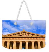 The Parthenon In Nashville Tennessee  Weekender Tote Bag