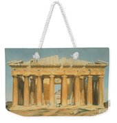 The Parthenon Weekender Tote Bag by Louis Dupre