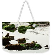 The Passetto Rocks And Water, Ancona, Italy Weekender Tote Bag