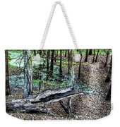 The Path By The Log Weekender Tote Bag