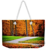 The Path To Autumn Weekender Tote Bag