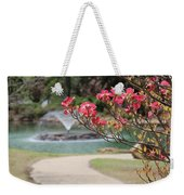 The Path To The Fountain Weekender Tote Bag