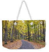 The Pathway To Fall Weekender Tote Bag