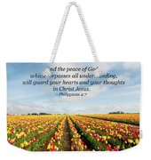 The Peace Of God Weekender Tote Bag
