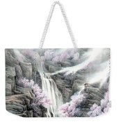 The Peach Blossoms In The Mountains Weekender Tote Bag