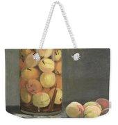 The Peach Glass Weekender Tote Bag