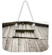 The Peak Of The Amana Farmer's Market Barn Weekender Tote Bag