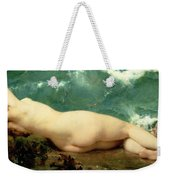 The Pearl And The Wave Weekender Tote Bag