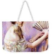 The Pearl Fan Weekender Tote Bag