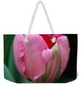The Peculiar Pink Tulip Weekender Tote Bag