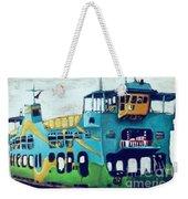 The Penang Ferry Weekender Tote Bag