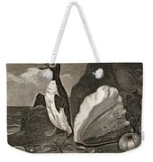 The Penguin With The Conc And Other Weekender Tote Bag