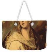 The Penitent Magdalene 1578 Weekender Tote Bag