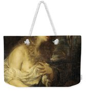 The Penitent Mary Magdalene Weekender Tote Bag