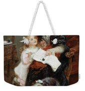 The Penitent Puppy Weekender Tote Bag