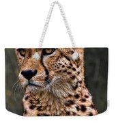 The Pensive Cheetah Weekender Tote Bag