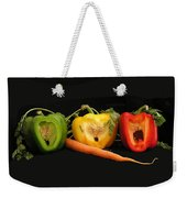 The Pepper Trio Weekender Tote Bag