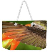 The Perfect Left Wing Of A Hummingbird Weekender Tote Bag