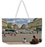 The Perfect View- Avenue De L'opera Paris  Weekender Tote Bag