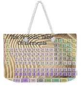The Periodic Table Of Elements 1 Weekender Tote Bag