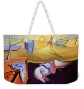 The Persistence Of Memory-amadeus Series  Weekender Tote Bag