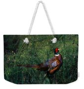 The Pheasant In The Autumn Colors Weekender Tote Bag