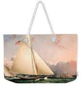 The Philip R. Paulding In New York Harbor Weekender Tote Bag