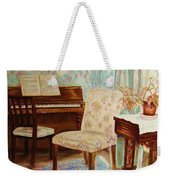 The Piano Room Weekender Tote Bag
