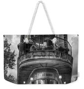The Pickle Barrel 3 B W Flatiron Architecture Chattanooga Tennessee Art Weekender Tote Bag