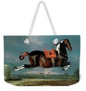 The Piebald Horse Weekender Tote Bag