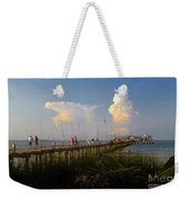 The Pier On Anna Maria Island Weekender Tote Bag