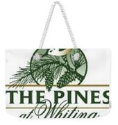 The Pines At Whiting Weekender Tote Bag