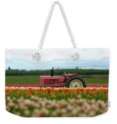 The Pink Tractor Weekender Tote Bag