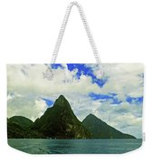 The Pitons Weekender Tote Bag