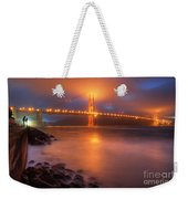 The Place Where Romance Starts Weekender Tote Bag