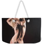 The Play With Red Ribbon Weekender Tote Bag
