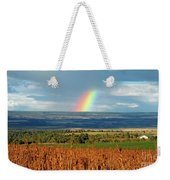 The Pleasant View Rainbow Weekender Tote Bag