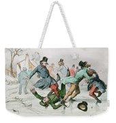The Pleasures Of Winter Weekender Tote Bag