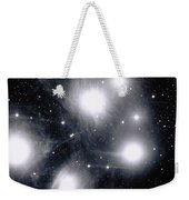 The Pleiades Star Cluster, Also Known Weekender Tote Bag by Stocktrek Images