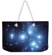 The Pleiades Star Cluster Weekender Tote Bag by Charles Shahar