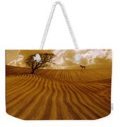 The Ploughed Field Weekender Tote Bag by Mal Bray