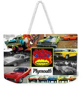 The Plymouth Rapid Transit System Collage Weekender Tote Bag