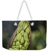 The Pod Opens Weekender Tote Bag