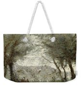 The Pond Weekender Tote Bag by Jean Baptiste Corot